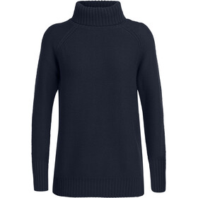 Icebreaker Waypoint Roll Neck Sweater Women, midnight navy